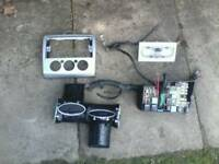 MK2 FORD FOCUS PARTS : heater vents /w washer tank / interior light / fuse box