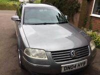 Volkswagen Passat 1.9TDI Estate automatic 2004 only one owner full service history