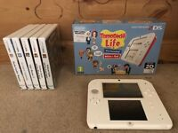2ds Tomodachi Life bundle with games