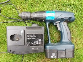 Rolson cordless drill 20.4v and charger