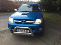 Toyota Hilux Vigo Invincible Warrior Pickup 4x4 Automatic NO VAT