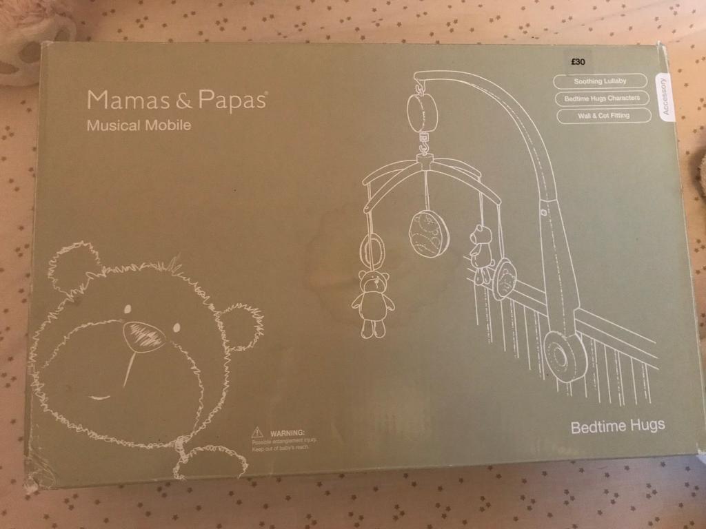 Mamas & Papas musical cot mobile