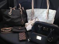 MICHAEL KORS bags and wristlets for sale
