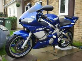 Yamaha R6 5eb. Low miles great condition