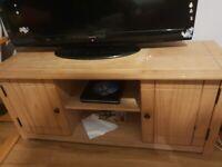 Tv stand light wood