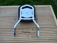 HARLEY DAVIDSON LOW SISSY BAR AND PAD