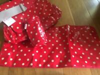 Cath Kidston nappy bag brand new with tags