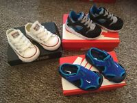 Infant trainers size 4