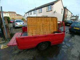 Car trailer mazda b2500 pickup bed