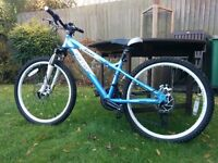 Girl's mountain bike Carrera Luna suitable for 8+ years (24in wheels) (North Cheam SM3)