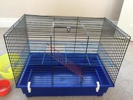 Hamster cage (fully equipped)
