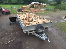 large Trailer of quality seasoned firewood for sale