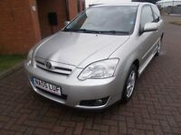 TOYOTA COROLLA 1.4 COLOUR COLLECTION (05) HPI CLEAR, GREAT VALUE.