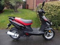 2015 LINTEX 50cc Learner Legal SPORTS SCOOTER Reliable 4 Stroke Moped ELECTRIC START Mint Condition