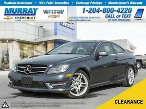 2015 Mercedes-Benz C-Class C350 4MATIC *Leather Seats, Sunroof,