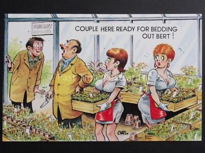 Chas: Bamforth & Co COUPLE HERE READY FOR BEDDING OUT BERT!! Garden Centre - Themes For Couples