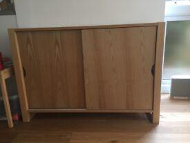 John Lewis oak dresser