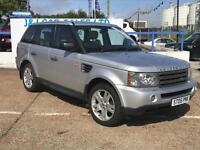 LAND ROVER RANGE ROVER SPORT 2.7 TDV6 HSE 5d AUTO 188 BHP A GREAT EXAMPLE INSID (silver) 2005