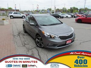 2014 Kia Forte EX | BACKUP CAM | SUNROOF | SAT RADIO