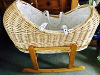 Limited Edition- Peter Rabbit Moses Basket & Stand