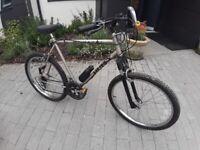 Man's / male mountain bike / trail bike / off-road bike