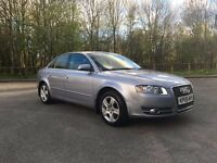 2005 Audi A4 2.0 TDI SE. 12 Months M.O.T Cam belt and water pump done