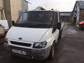 For Sale - £4650 - Ford Transit 90 T300 2.4L 29,000 Miles Only, mot 11 months