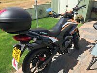 2015 Keeway TX 125 - 125cc motorcycle