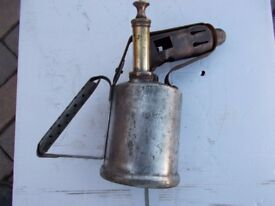 steel bodied parafin blowlamp
