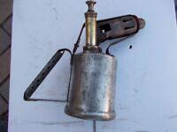 steel bodied parafin blowlamp