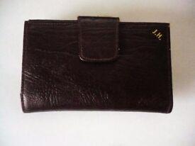 Brand New Ladies James Hanson English Leather Purse + Keychain light UK Posting @ £1.95