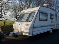 STERLING 4 BERTH WITH FULL AWNING FULL EQUIPMENT NO DAMP ATT ALL