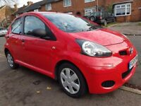 TOYOTA AYGO 1.0 RED 59 REG 5 DOOR HATCHBACK 1 FORMER OWNER LONG MOT STARTS AND DRIVES GREAT MAY P/X