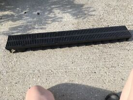 ACO Hex drain channel and grating