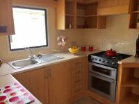 Modern spacious 8 berth holiday caravan for rent in Trecco Bay Park Dean Resort Wales