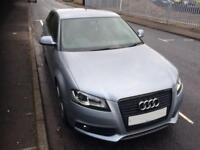 """Audi A3 S-line Black Edition,9months MOT,DFW changed, BOSE-sound, 18""""alloys-Continental tyres, Xenon"""