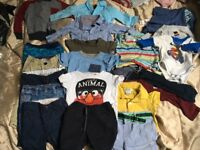 Boys clothes bundle 6m to 1 1-2 years. Pet free smoke free house (plenty of wear left)