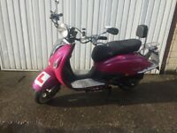 2012 lexmoto Valencia 125cc