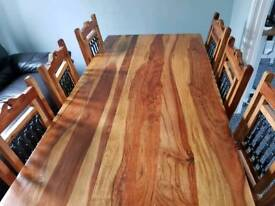 Real wood Dinning room table