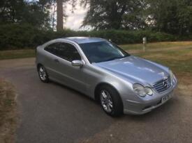 Mercedes c class coupe 200 kompressor