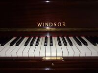 Windsor upright piano - restored with guarantee
