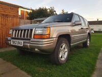 Jeep Grand Cherokee Orvis 4.0 Limited Automatic 4X4 LPG Conversation