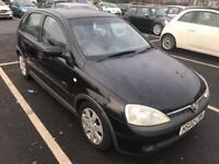 2003 Vauxhall Corsa Diesel Twinport. Mot. Tax. Warranty
