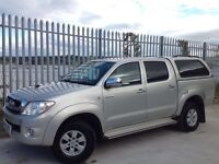 2010 TOYOTA HILUX D/C 2.5 D4-D HL3 4X4 MANUAL SILVER ++ IMMACULATE CONDITION!! ++ FSH!! ++