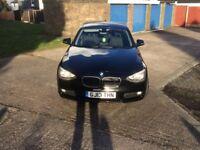 13 plate black BMW 1 series excellent condition 75000 ~quick sale