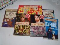 Horrible History Books x 6 not new