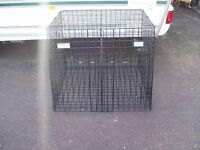 Car dog cage built for Nissan X Trail ( old shape)