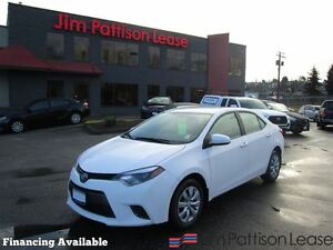2016 Toyota Corolla LE w/backup cam, heat seats, bluetooth
