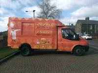 Ford Transit 100 T350M diesel 57 reg mobile catering food burger van