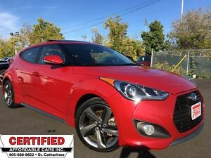 2013 Hyundai Veloster Turbo ** NAV, BLUETOOTH, HTD LEATH **